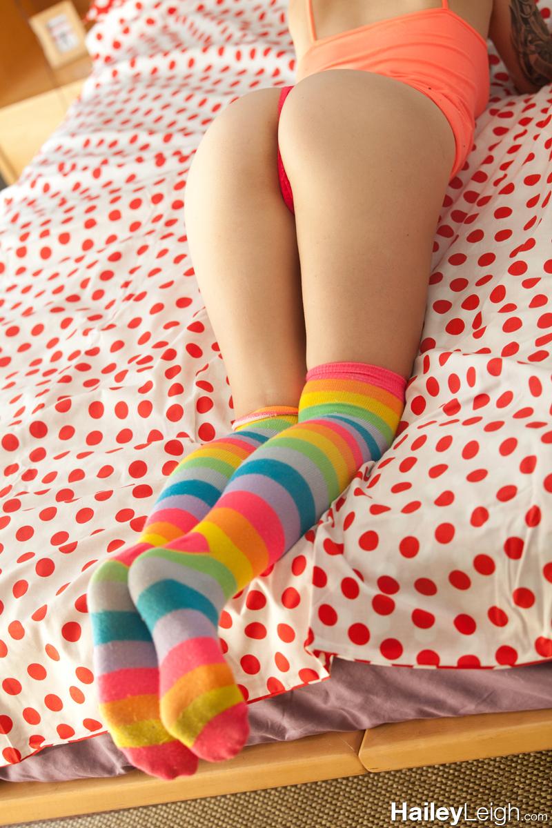 Girls fucked with socks